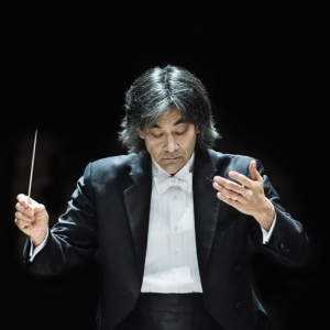 Symphony Conductor at Podium