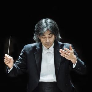 Symphony Conductor at Podium