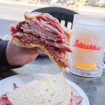 Lester's Deli Smoked Meat Sandwich