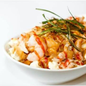 Nontraditional Seafood Poutine