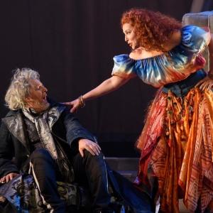 Actors in scene in Montreal play