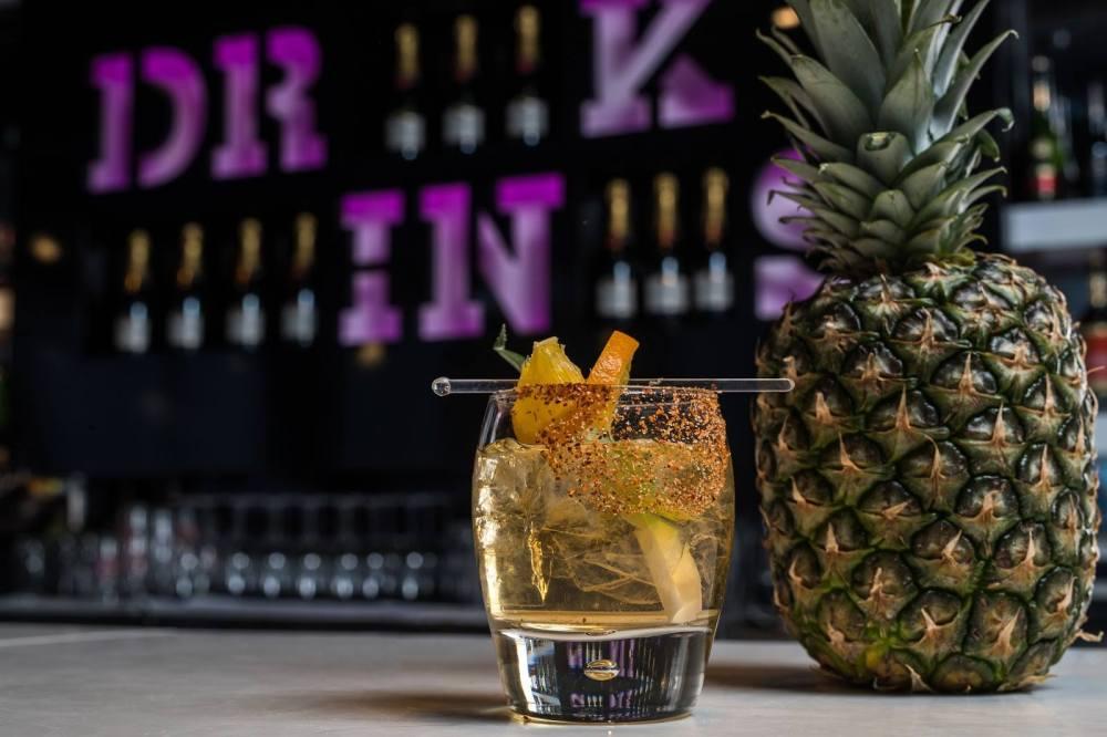 Cocktails at Z Tapas Bar