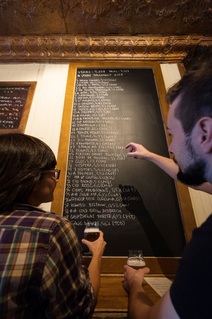 Beer List at Vices & Versa